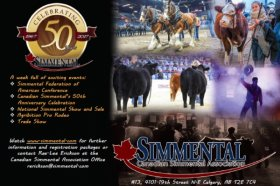2017 Simmental Federation of Americas Conference and the Canadian National Simmental Show Registration Open Now