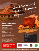 World Simmental-Fleckvieh Congress - Sept. 24-28, 2018